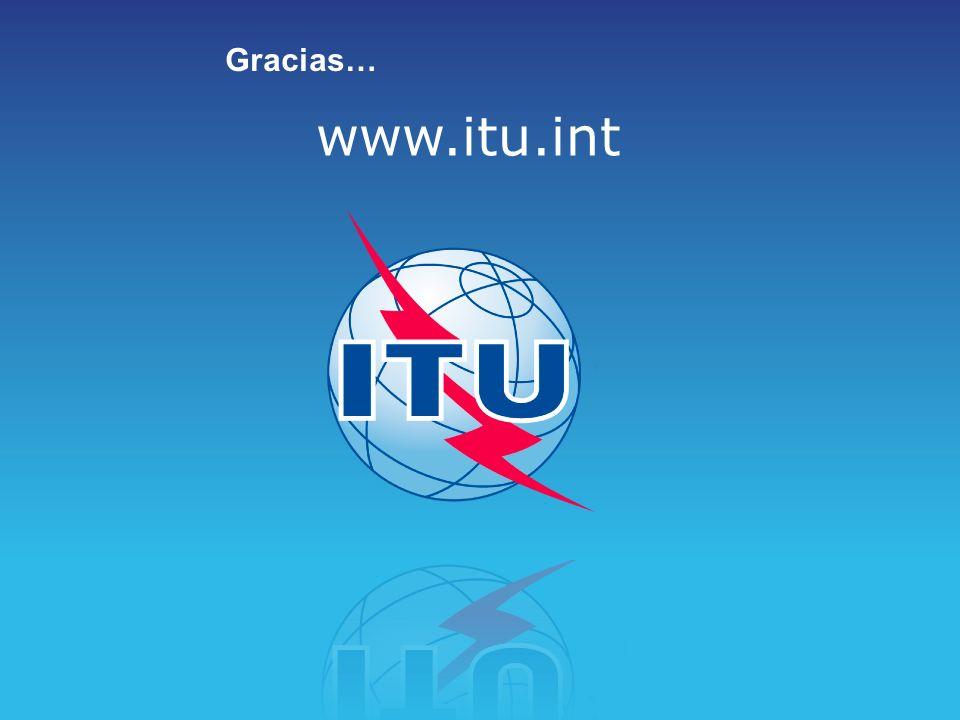 www.itu.int Gracias…