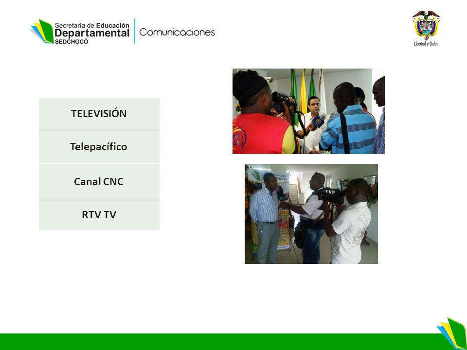 TELEVISIÓN Telepacífico Canal CNC RTV TV