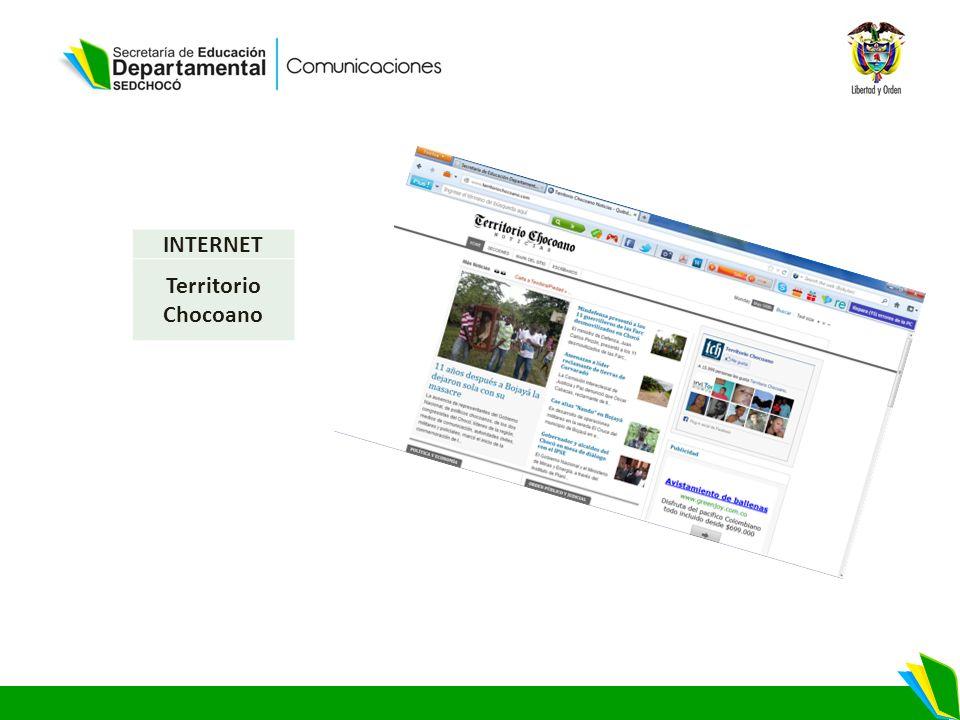 INTERNET Territorio Chocoano