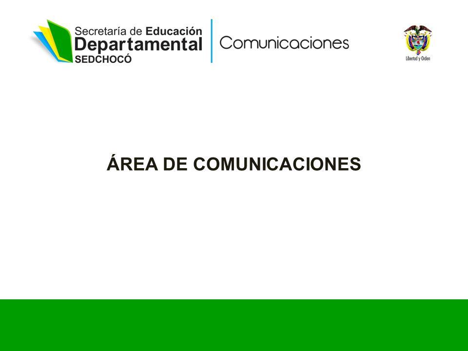 ÁREA DE COMUNICACIONES