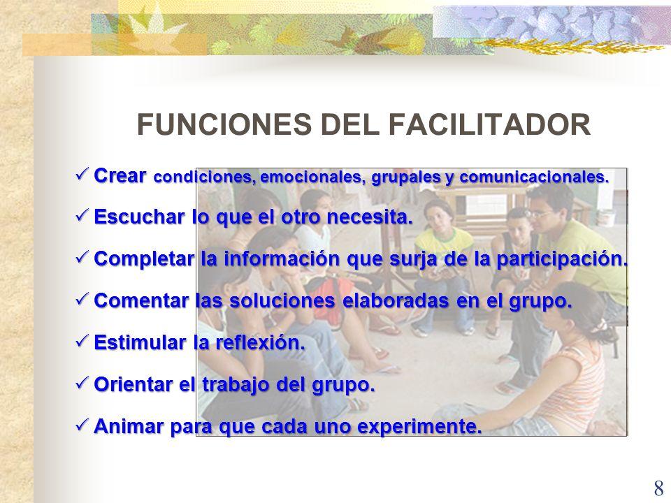 ¿Este facilitador promueve el aprendizaje grupal…? 9