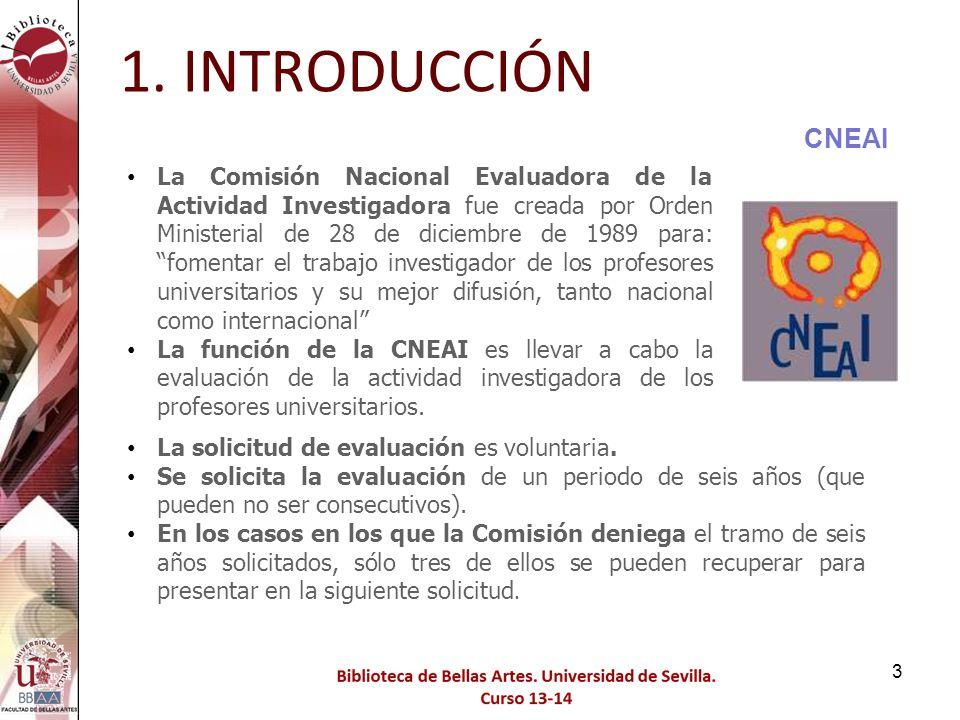 124 ENLACES PARA TRABAJAR FECYT WEB OF SCIENCE 11. ANEXOS: