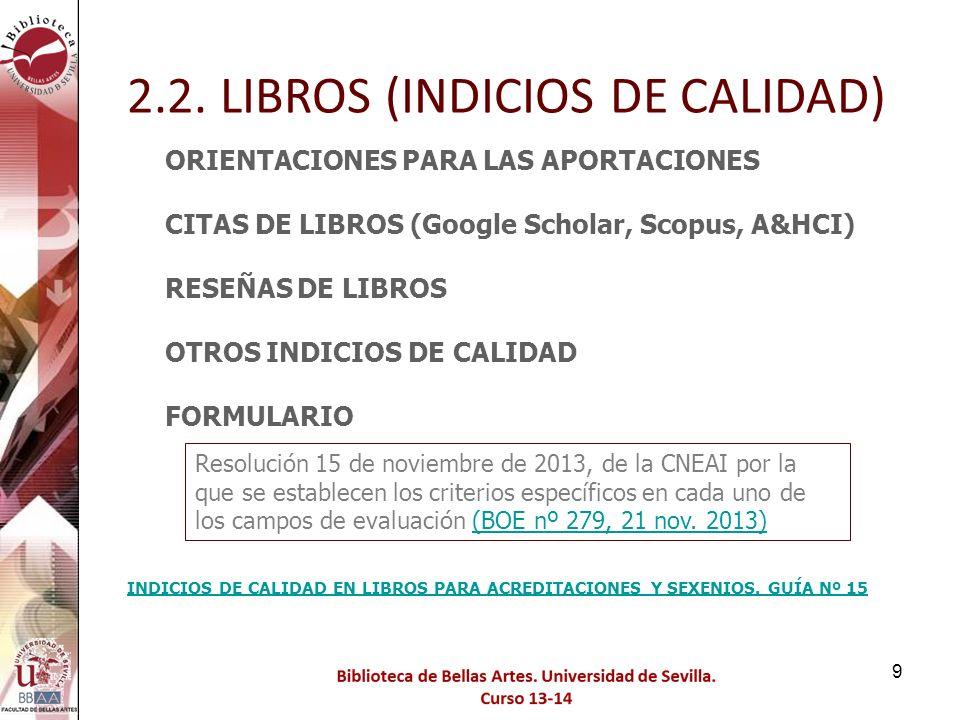 Utilizamos el enlace Journal Ranking para obtener más datos 2.3 ARTÍCULOS DE REVISTAS 50