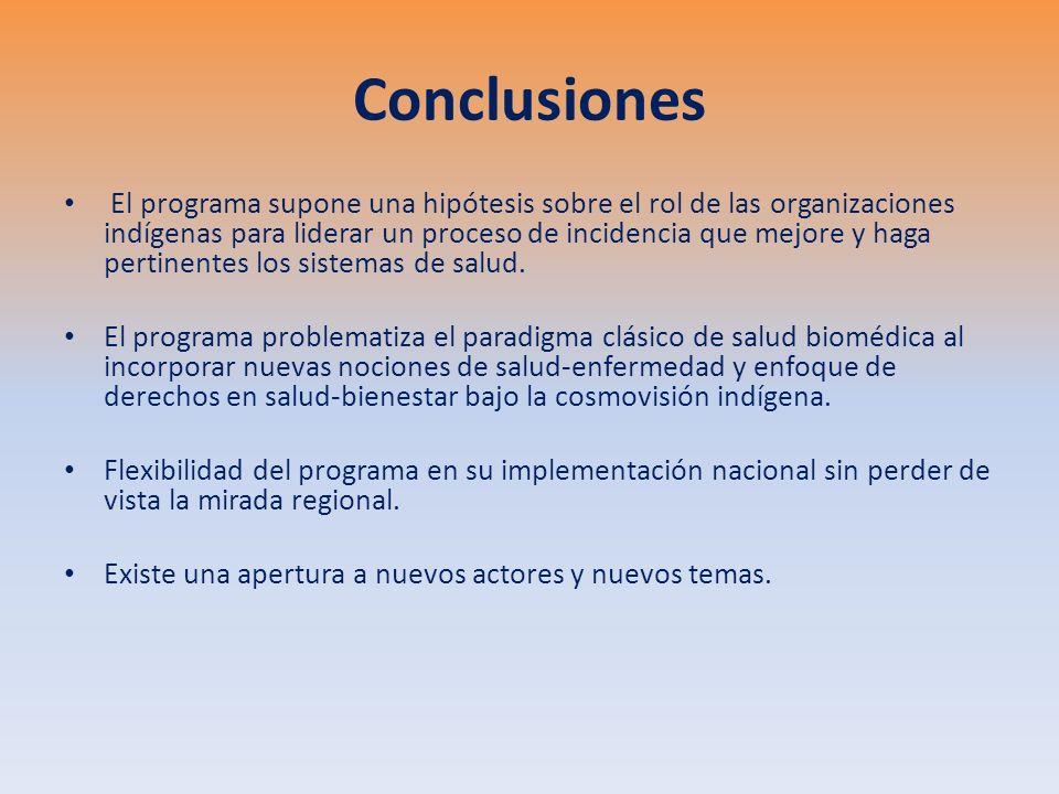 Recomendaciones Generar una plataforma de conocimientos y saberes interculturales, particularmente sobre salud materna en poblaciones indígenas, para apoyar procesos de diálogo y toma de decisiones en políticas públicas.