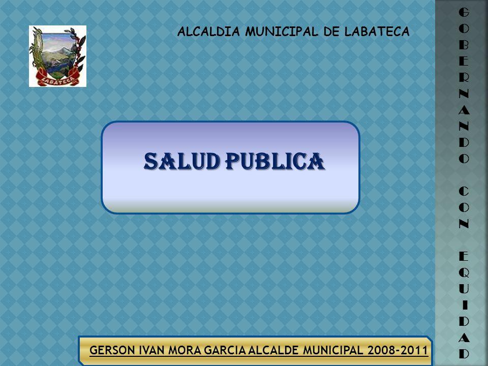 ALCALDIA MUNICIPAL DE LABATECA G O B E R N A N D O C O N E Q U I D A D GERSON IVAN MORA GARCIA ALCALDE MUNICIPAL 2008-2011 MARIA INES JAIMES782.995,49