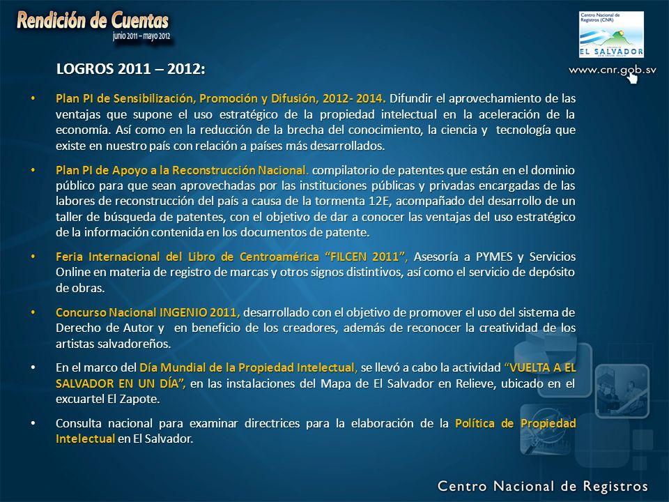 Plan PI de Sensibilización, Promoción y Difusión, 2012- 2014.