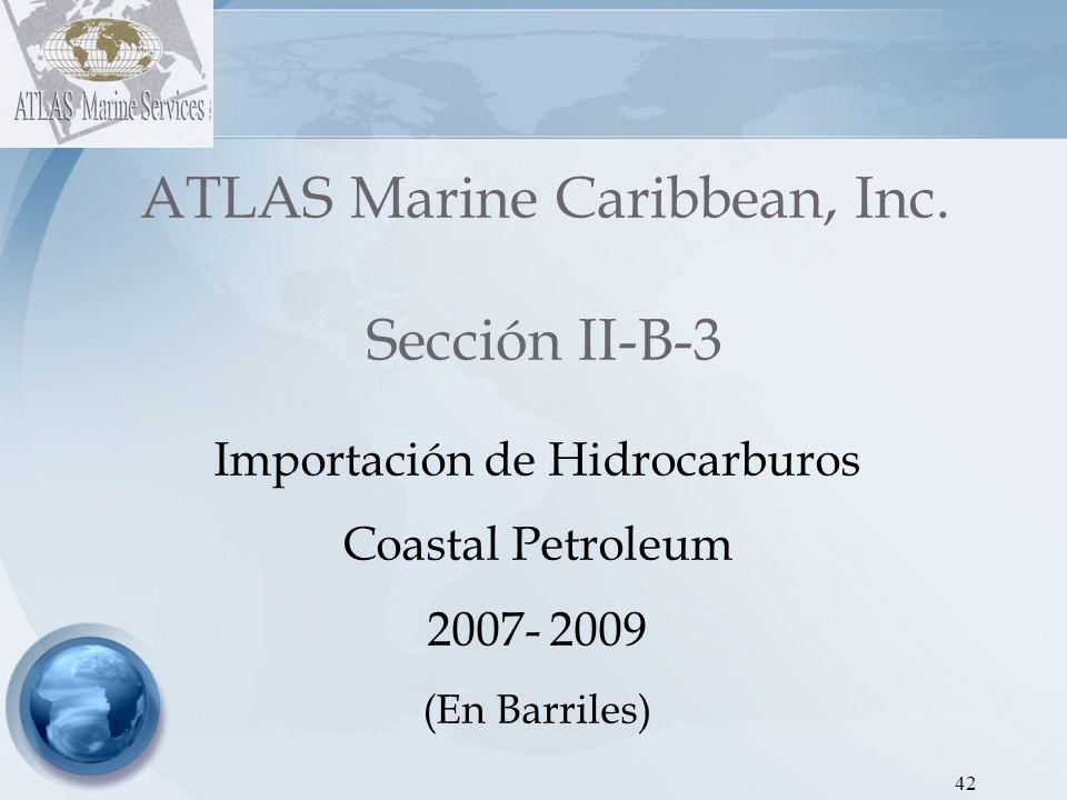 43 ATLAS Marine Caribbean, Inc.