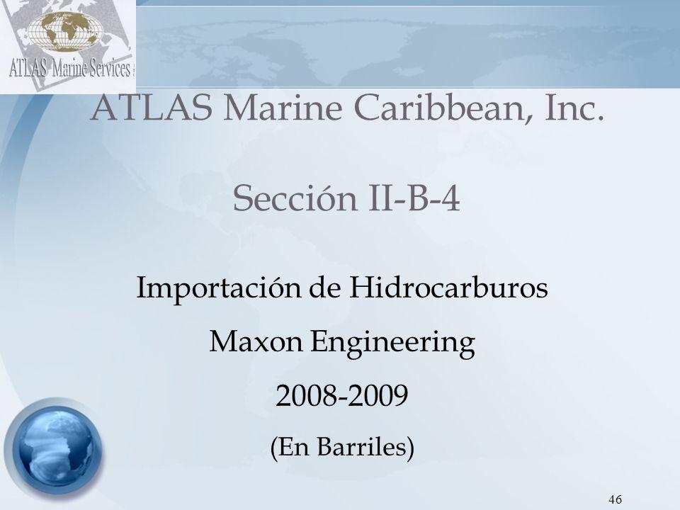47 ATLAS Marine Caribbean, Inc.