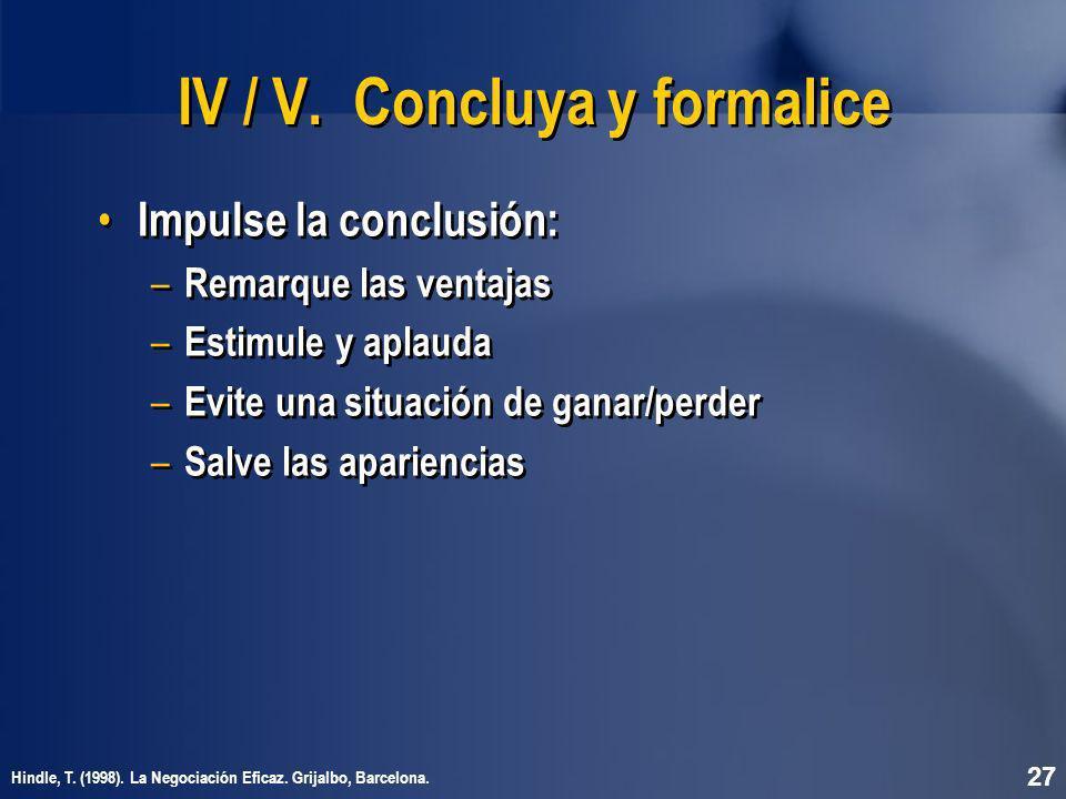 IV / V.