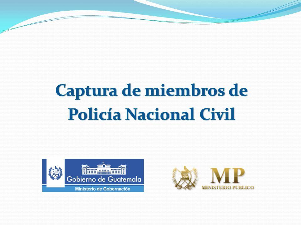 Antecedentes Estructura dedicada al tumbe de dinero y drogas Está formada en su mayoría por agentes de la DEIC de la sección de municipios.