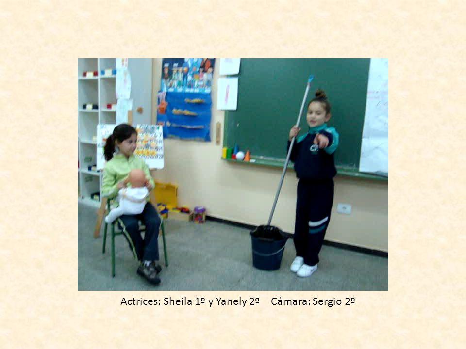 Actrices: Sheila 1º y Yanely 2º Cámara: Sergio 2º
