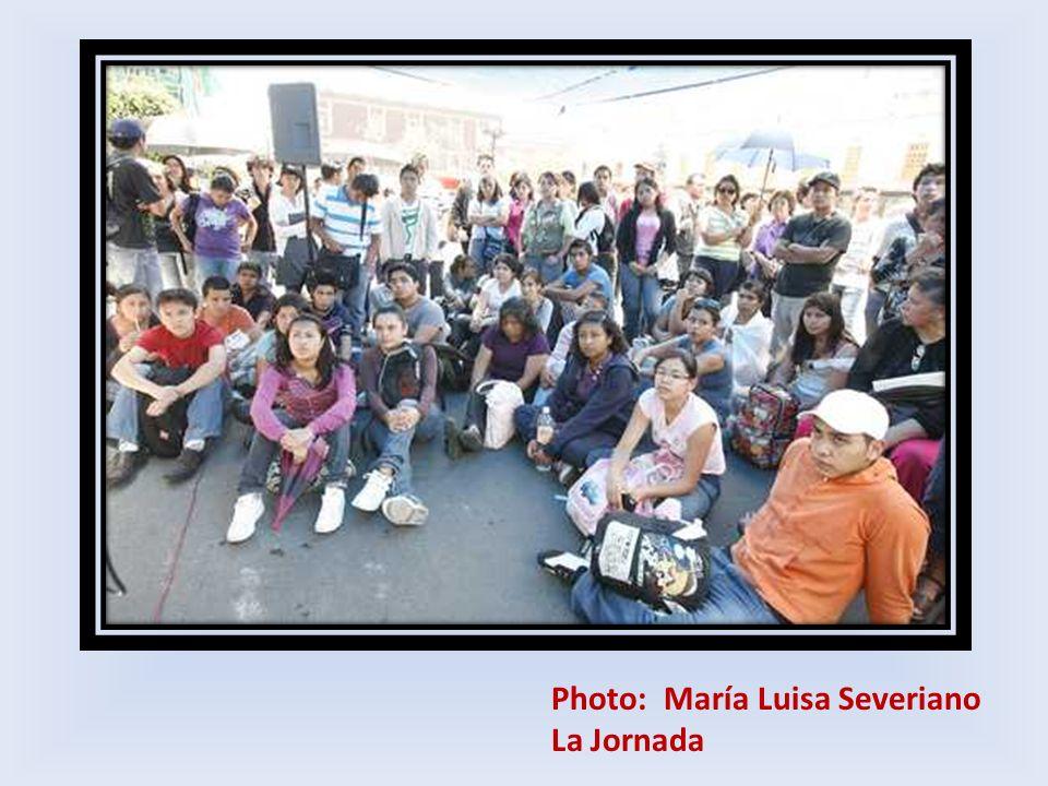 Photo: María Luisa Severiano La Jornada