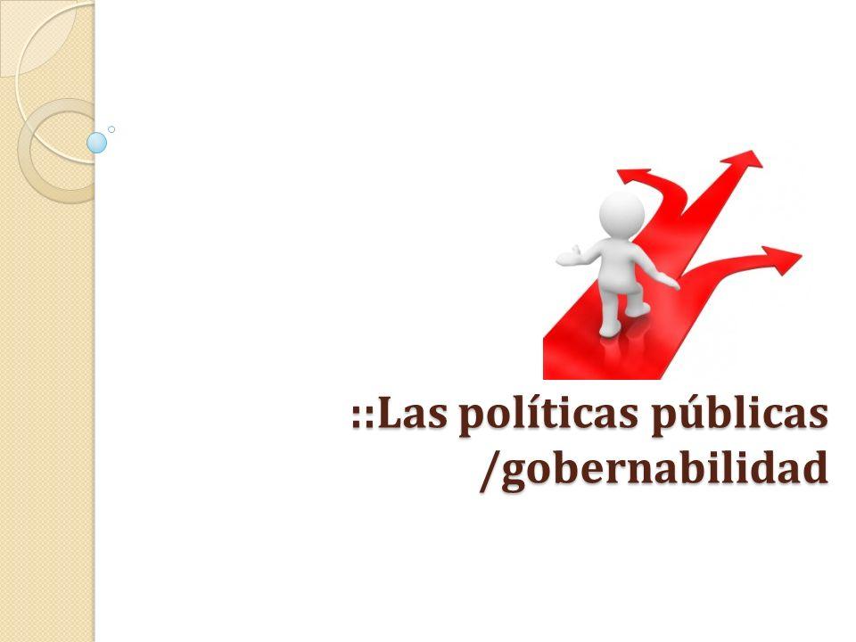 4) Bote de basura: En la perspectiva de March y Olsen la mayoría de los procesos decisorios y por ende de las políticas públicas se caracteriza por una irreprimible complejidad.
