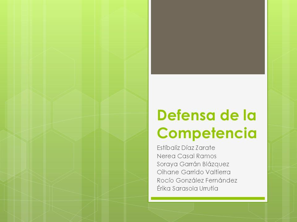 LEY 16/1989 sobre Defensa de la Competencia Relación con el art.38 de la CE.