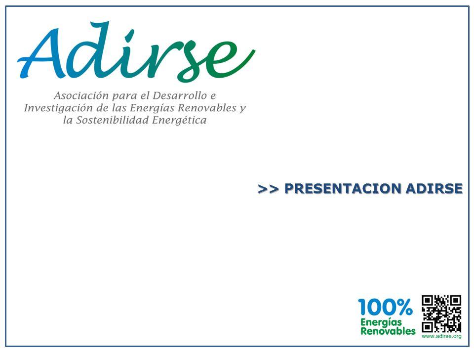 >> PRESENTACION ADIRSE