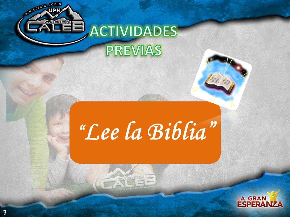 Lee la Biblia 3