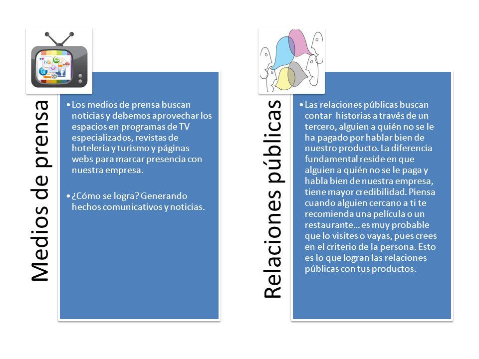 Mercadotecnia Estudia un mercado determinado y analiza las variables que afectan nuestra estrategia de comunicación.