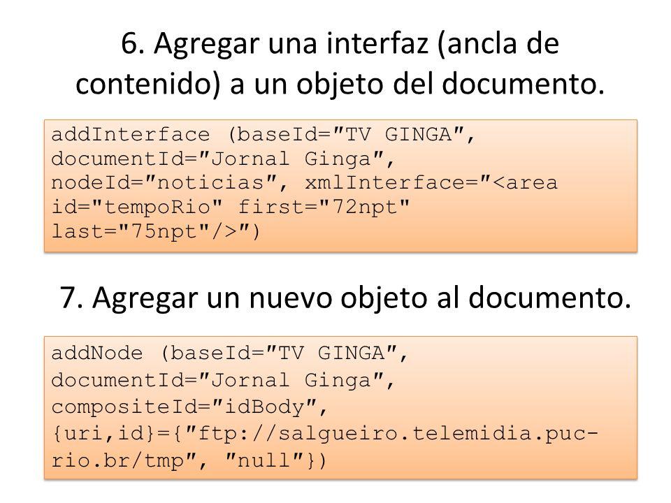 6.Agregar una interfaz (ancla de contenido) a un objeto del documento.