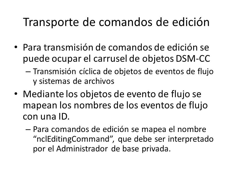 EJEMPLO DE COMANDO DE EDICION NCL PASOS A SEGUIR: 1.