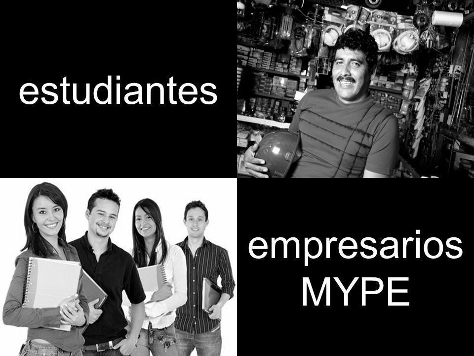 estudiantes empresarios MYPE