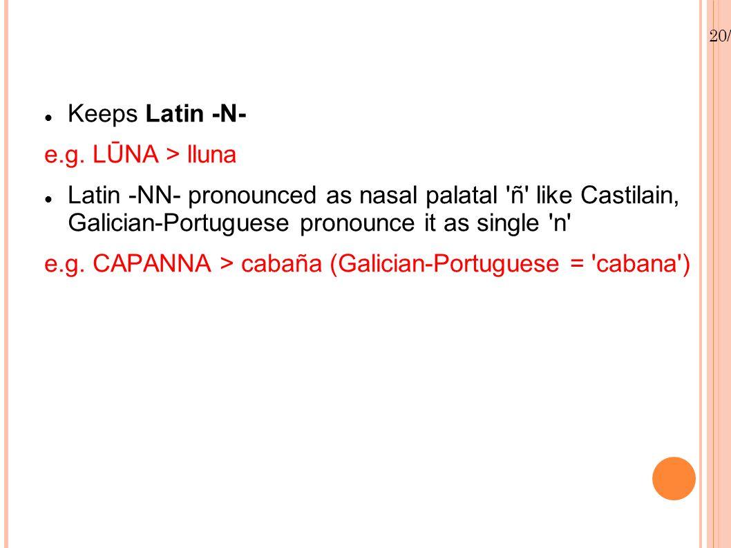 20/01/13 Keeps Latin -N- e.g.