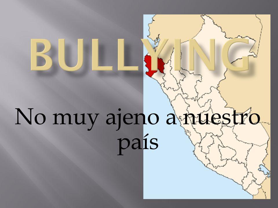 La palabra bullying describe un modo de trato entre personas.Su significado fundamental es:acosar, molestar, hostigar, obstaculizar o agredir físicamente a alguien.