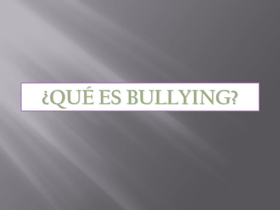 En este trabajo lo que se quiere lograr, es sensibilizar a las personas a no fomentar ni practicar el bullying.