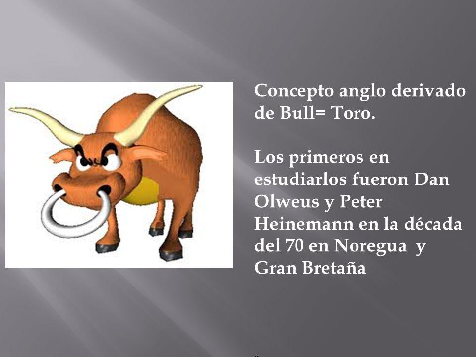 Concepto anglo derivado de Bull= Toro.