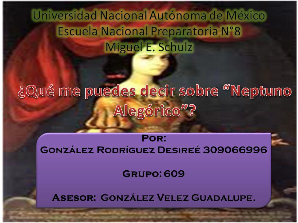 El Neptuno alegórico es un largo texto en prosa escrito por Sor Juana Inés de la Cruz, para celebrar la entrada en la Ciudad de México del virrey Tomás de la Cerda y Aragón, marqués de la Laguna, el 30 de noviembre de 1680.