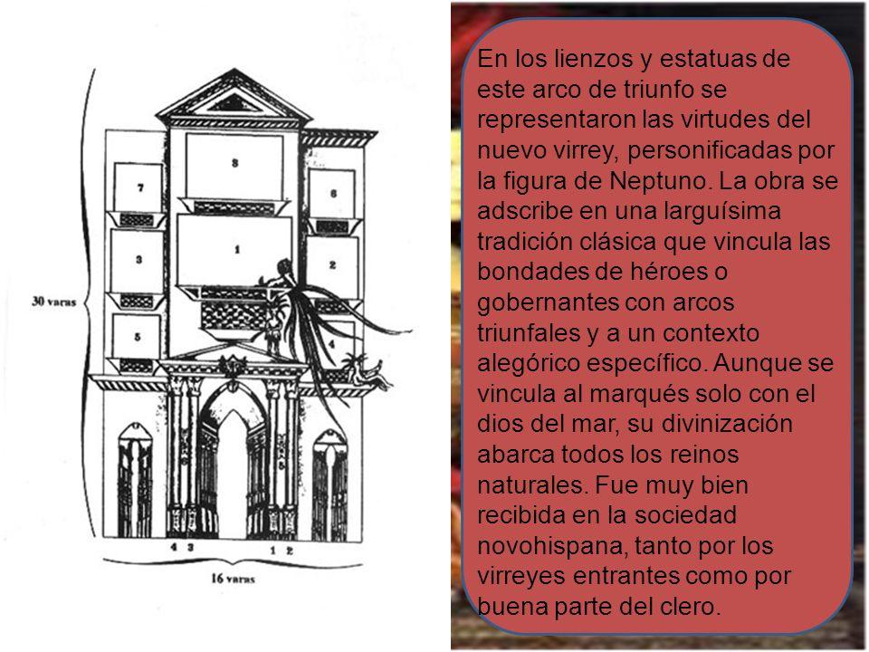 En 1680 Sor Juana Inés de la Cruz fue invitada por la Iglesia Metropolitana a idear, un arco triunfal para la entrada en México de su sucesor en el gobierno civil, don Tomás Antonio de la Cerda, Conde de Paredes y Marqués de la Laguna.