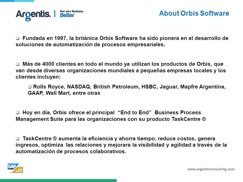 Fundada en 1997, la británica Orbis Software ha sido pionera en el desarrollo de soluciones de automatización de procesos empresariales.