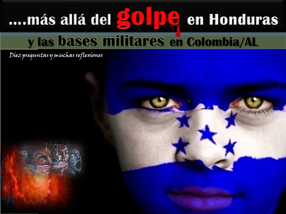 ¡ Es importantísimo mantener una gran campaña de Solidaridad internacional con el pueblo hondureño en lucha contra los golpistas.