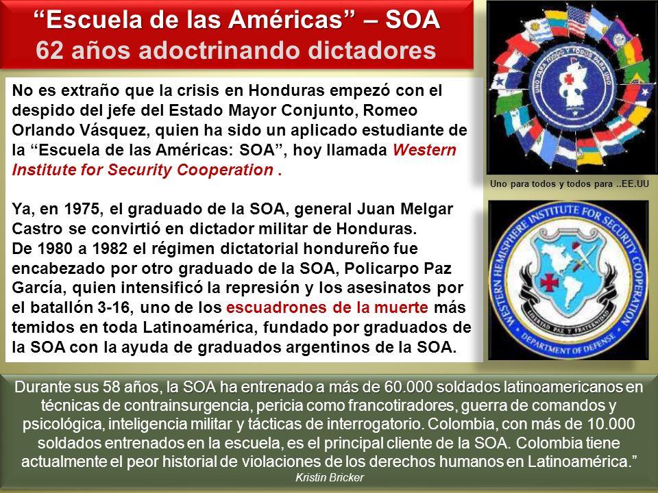 No es extraño que la crisis en Honduras empezó con el despido del jefe del Estado Mayor Conjunto, Romeo Orlando Vásquez, quien ha sido un aplicado est