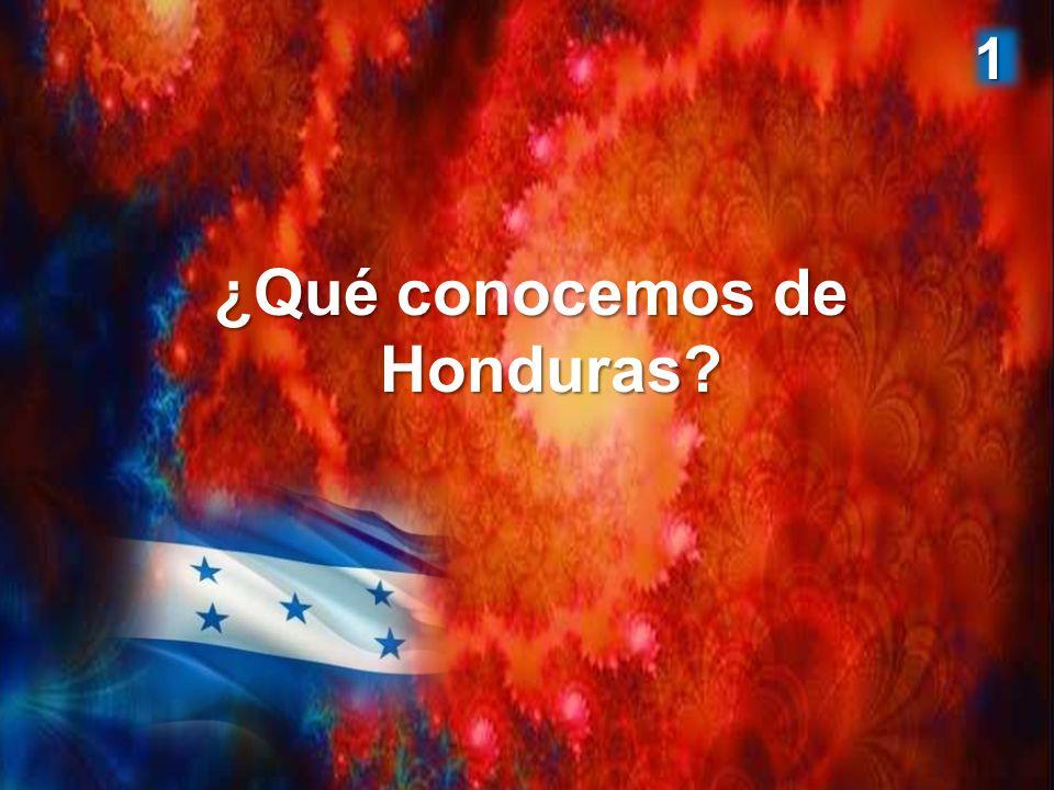 ¿Qué conocemos de Honduras? 1