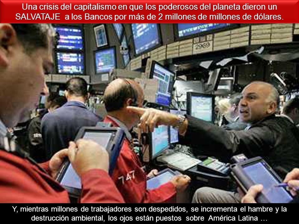 capitalismo en que los poderosos del planeta SALVATAJE2 millones de millones de dólares Una crisis del capitalismo en que los poderosos del planeta di