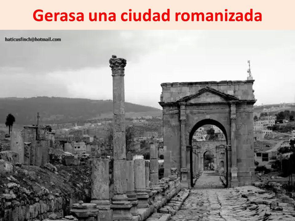 Gerasa una ciudad romanizada