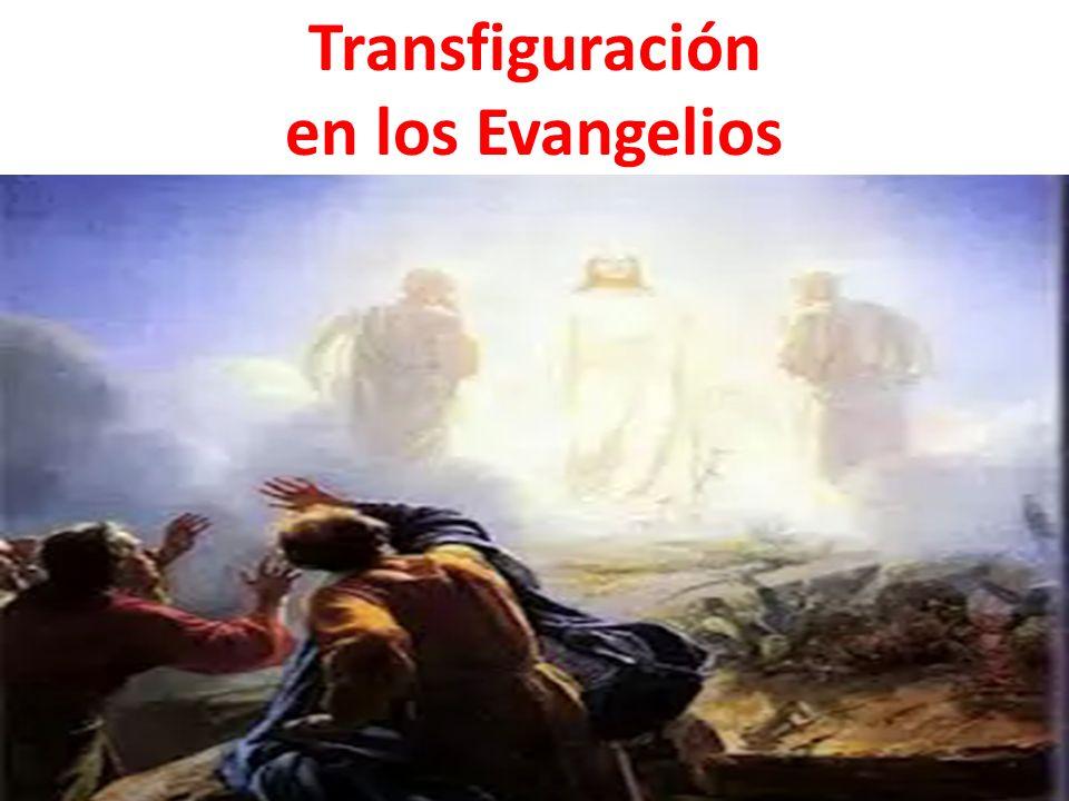 Transfiguración en los Evangelios