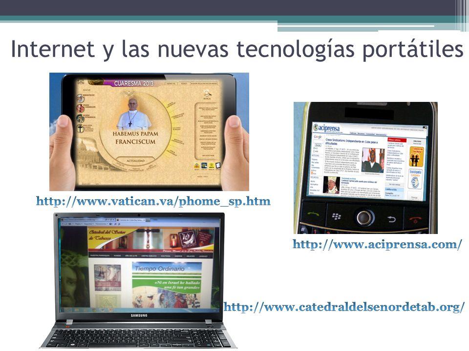 Internet y las nuevas tecnologías portátiles