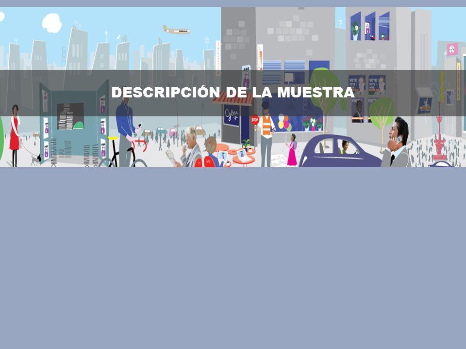 © 2008 Ipsos DESCRIPCIÓN DE LA MUESTRA
