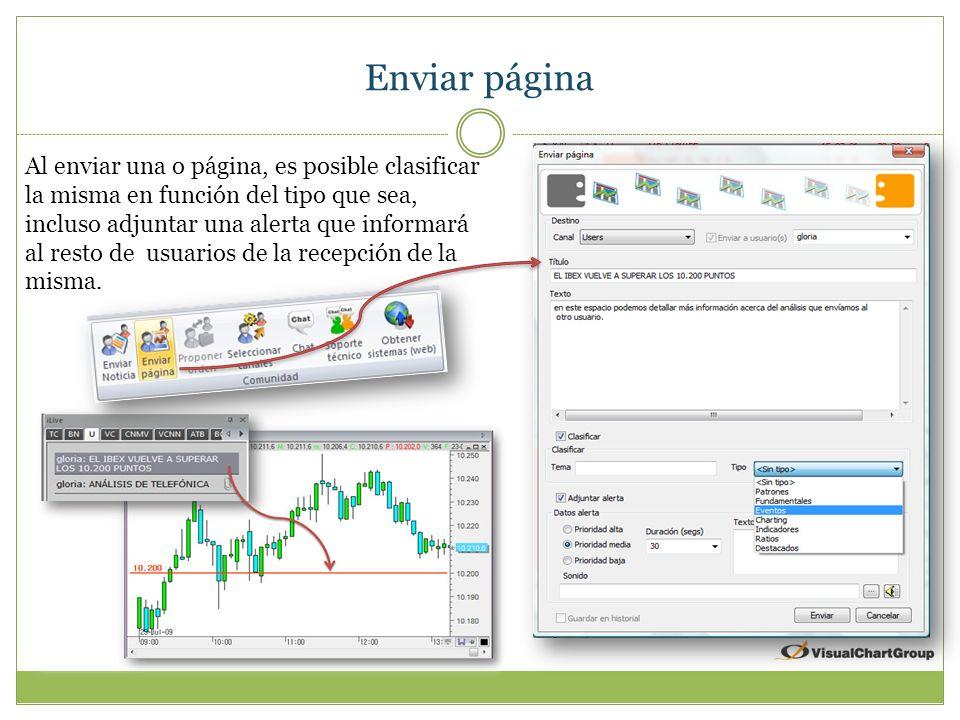 Enviar noticia Enviar noticia permite compartir conocimientos con el resto de usuarios.