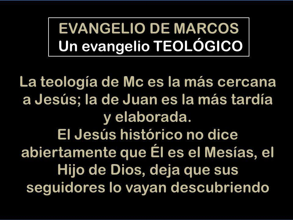 CREEMOS en el Jesús del evangelio de Mc - Señor, Jesús, creemos que Tu nos has traído el REINADO de Dios (su talante) - Señor, Jesús, creemos que nos LLAMAS a esparcir HOY este modo de hacer - Señor, Jesús, creemos que tienes la AUTORIDAD de Dios, i que nos la das - Señor, Jesús, creemos que nos quieres CURAR, i quieres que, como Tu, curemos a los demás - Señor, Jesús, creemos que pasaste noches rezando por todos nosotros, y te queremos acompañar.