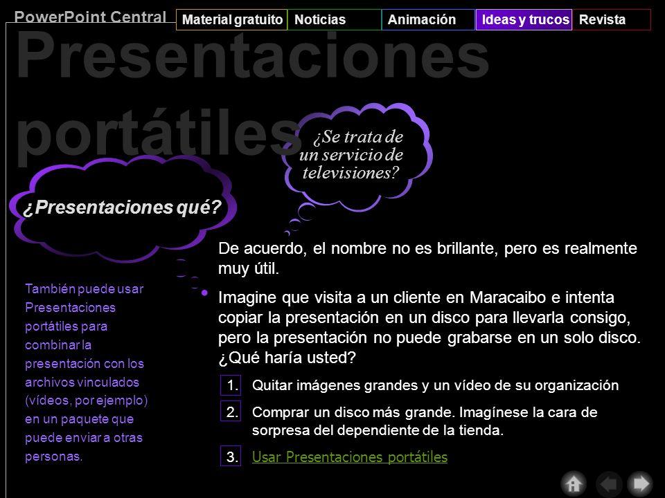 PowerPoint Central Material gratuitoNoticiasAnimaciónIdeas y trucosRevista 4 Finalmente, haga clic en Guardar del menú Archivo, seleccione Plantilla d