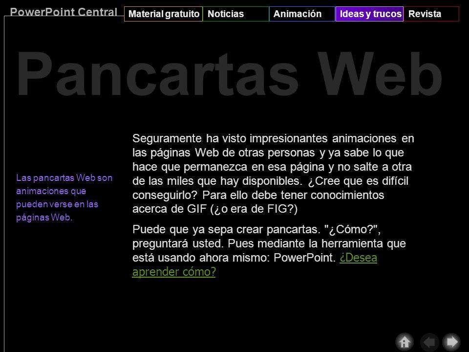 PowerPoint Central Material gratuitoNoticiasAnimaciónIdeas y trucosRevista Con el objeto seleccionado, en el menú Presentación, haga clic en Preestabl