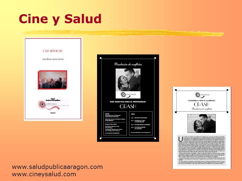 Cine y Salud www.saludpublicaaragon.com www.cineysalud.com