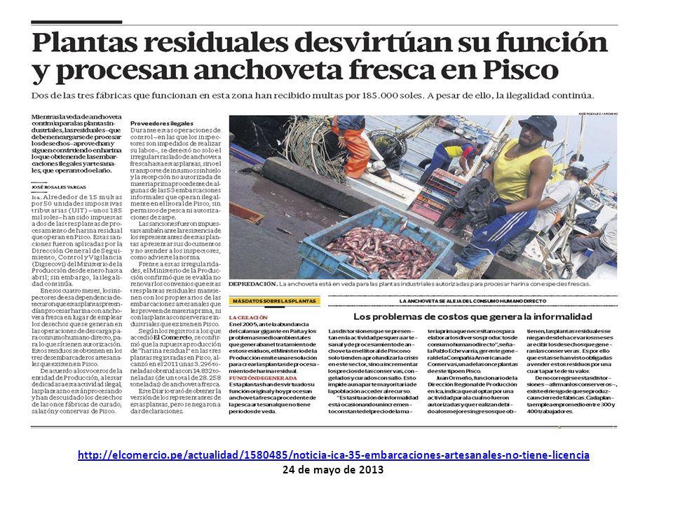 http://elcomercio.pe/actualidad/1580485/noticia-ica-35-embarcaciones-artesanales-no-tiene-licencia 24 de mayo de 2013