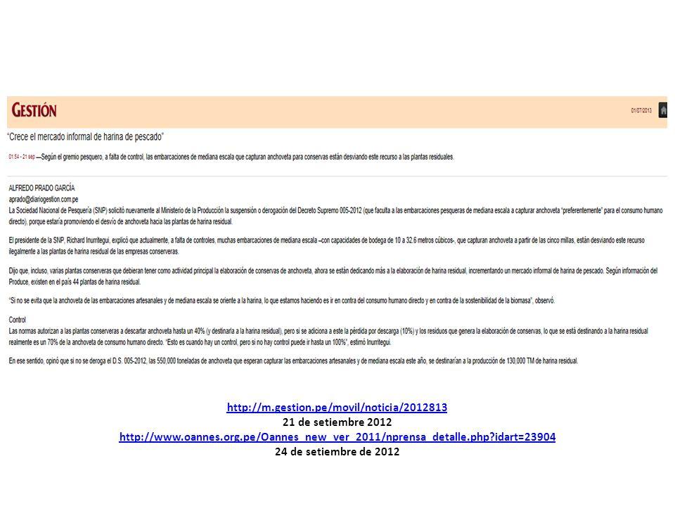 Diario Perú Pesquero de Chimbote - 6 de junio de 2013