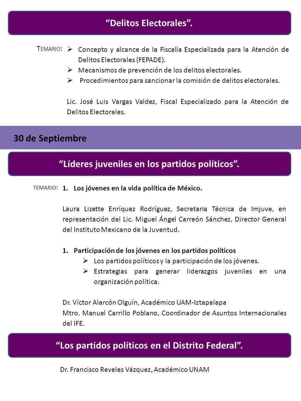 Delitos Electorales. T EMARIO : Concepto y alcance de la Fiscalía Especializada para la Atención de Delitos Electorales (FEPADE). Mecanismos de preven