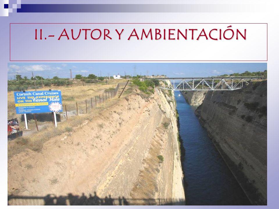 II.- AUTOR Y AMBIENTACIÓN