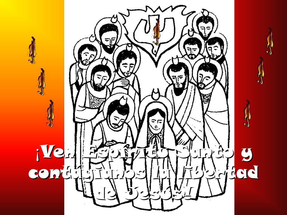 Sin tu fuerza y tu verdad, nuestro seguimiento gozoso a Jesús se convertirá en moral de esclavos; no conoceremos el amor que da vida, sino nuestros egoísmos que la matan; se apagará en nosotros la libertad que hace crecer a los hijos e hijas de Dios y seremos, una y otra vez, víctimas de miedos, cobardías y fanatismos.