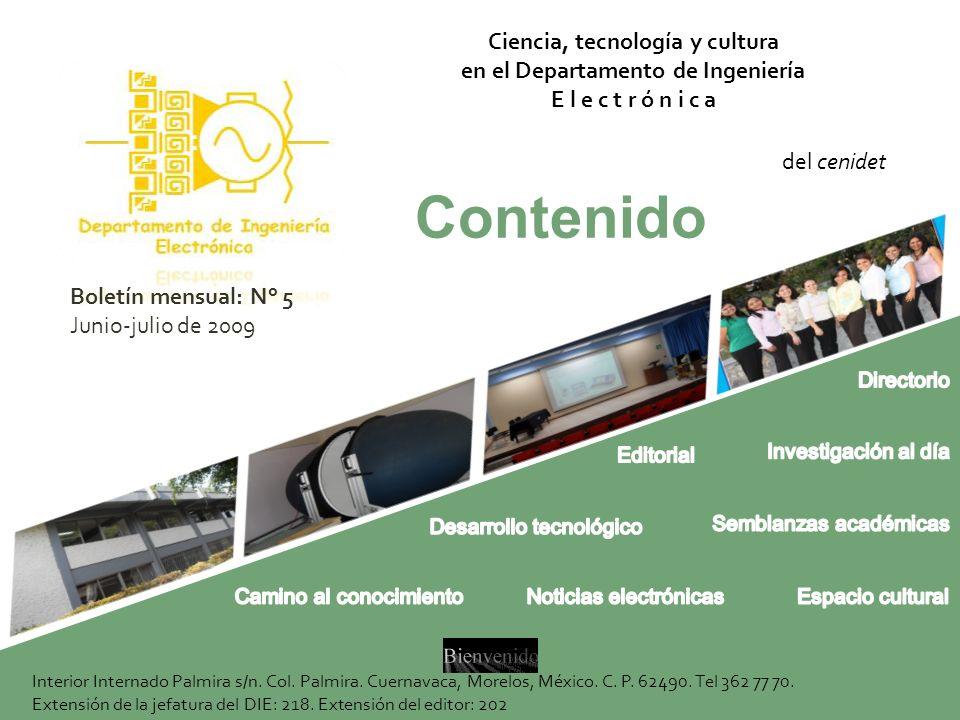 Directorio Dr.Jaime Eugenio Arau Roffiel Director del CENIDET Dr.